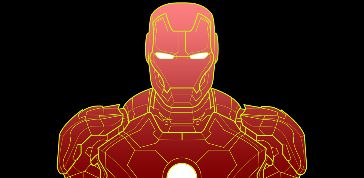 Free mark 42 ironman vectors by mattclarke